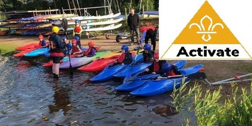 Hereford & Worcester Scouts - Activate Paddle Sports Evenings