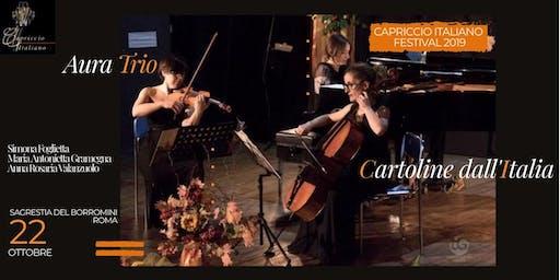 """CARTOLINE DALL'ITALIA"" – AURA TRIO"