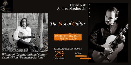 """THE BEST OF GUITAR"" - Winner of the International Guitar Competition ""Domenico Ascione"" biglietti"
