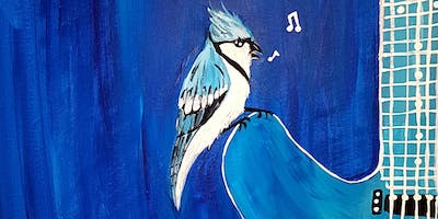 "Paint "" Blues Jay\"" EXCLUSIVE 1 Day Only Sunday FUNday Afternoon in Coquitlam"