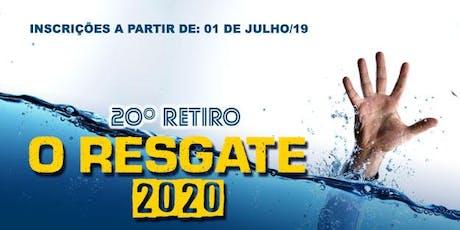 #RetiroVP 2020 - O Resgate ingressos
