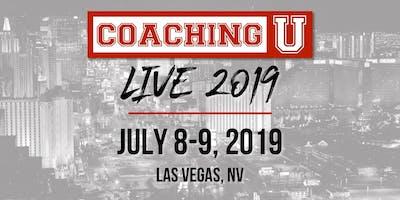 Coaching U LIVE 2019 Las Vegas VIP Experience: July 8-9