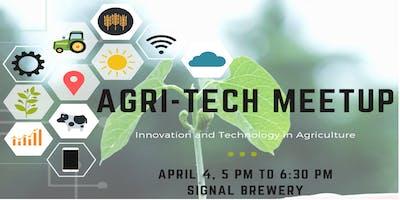 Agri-Tech MeetUp with Guest Speaker Sandor Johnson @ Signal Brewery