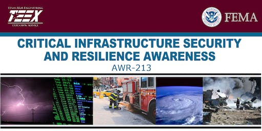 TEEX AWR-213 Critical Infrastructure Security & Resilience Awareness