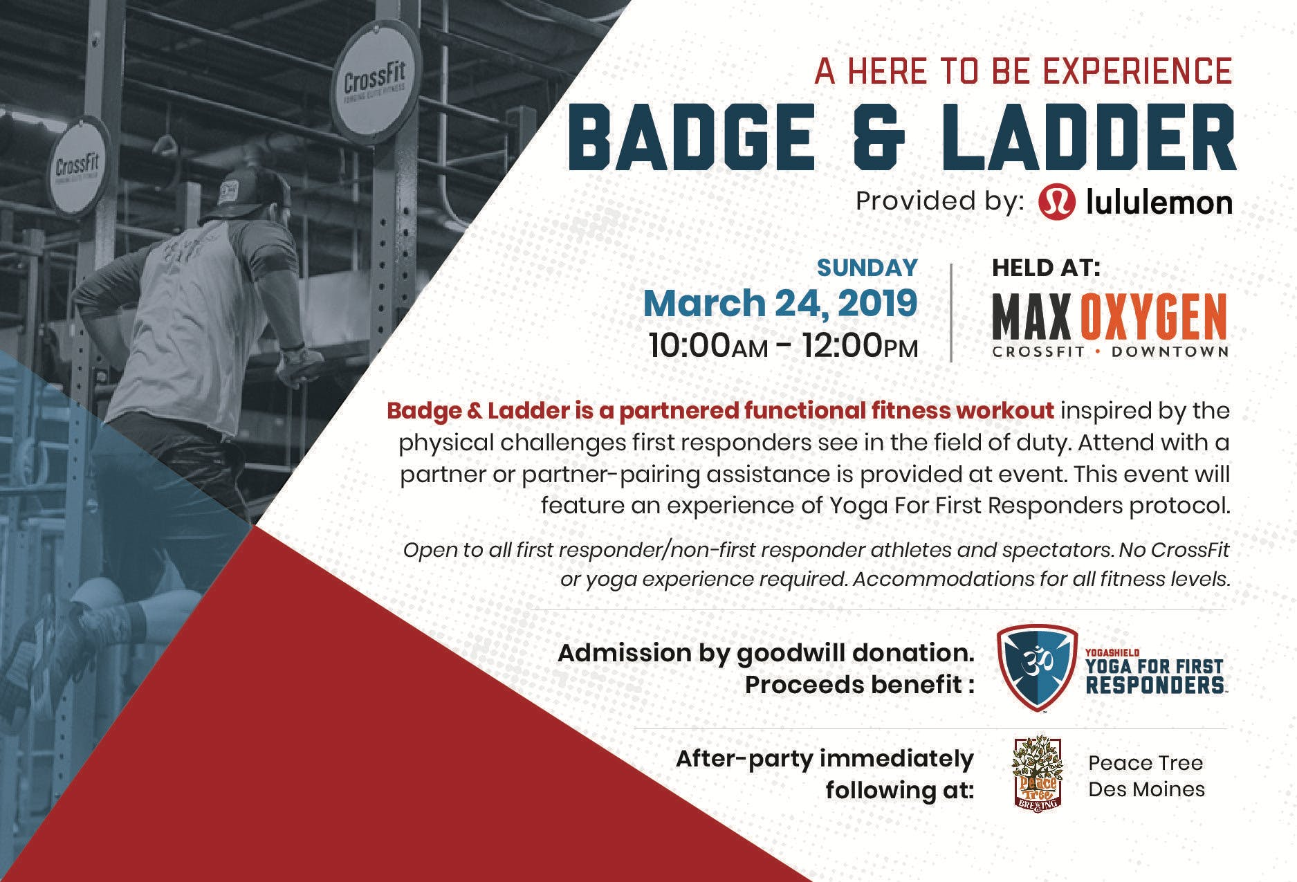 A Here to Be Experience: Badge and Ladder