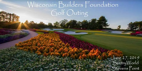 2019 Wisconsin Builders Foundation Golf Outing tickets