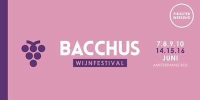 Bacchus Wijnfestival 2019 - vrijdag 7 juni