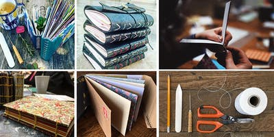 Fortnightly Upcycled Bookbinding Class @ Honey Pot Creative Cafe