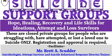 SISFI Emotional Pain, Suicide, Depression Support Group by Brett A. Scudder tickets