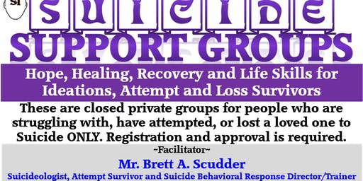 SISFI Emotional Pain, Suicide, Depression Support Group by Brett A. Scudder