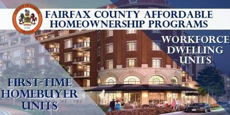 Affordable Homeownership Opportunities in Fairfax County Orientation tickets