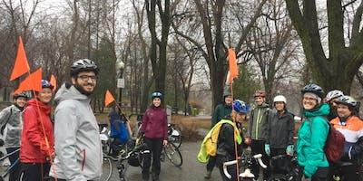 Formation pour instructeurs et instructrices Cycliste averti - Montréal