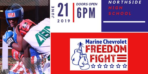 Marine Chevy Freedom Fight III Boxing Event