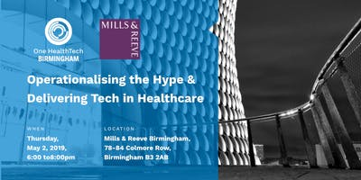 Operationalising the Hype & Delivering Tech in Healthcare