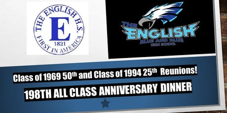 198th Anniversary All Class Reunion Dinner tickets