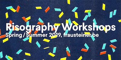 Drukdrukdruk 2019 : Riso Poster Party