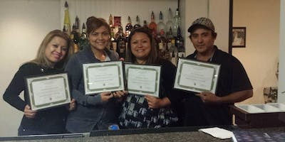 Spanish Bartending School Class for State-Approved License