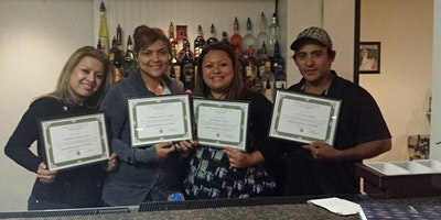 Spanish Bartending School Class for State-Approved