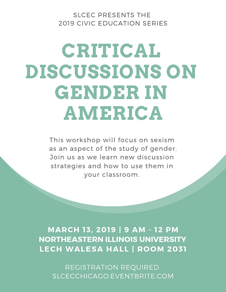 Critical Discussions on Gender in America image