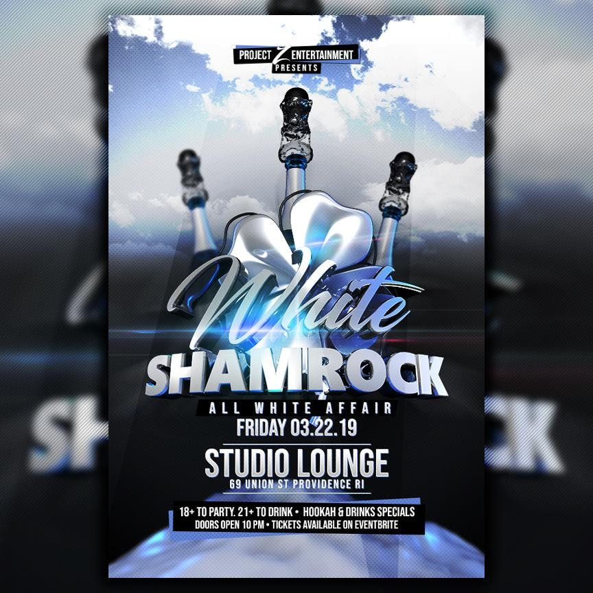 WHITE SHAMROCK ALL WHITE AFFAIR