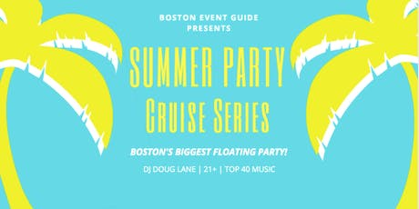 Seaport Summer Cruise Series: use code 'SUMMER' for promo tickets