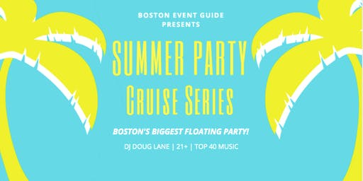 Seaport Summer Cruise Series: use code 'SUMMER' for promo