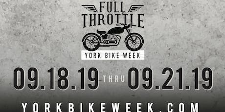 York Bike Week/Fuel and Small Town Titans Concert  tickets