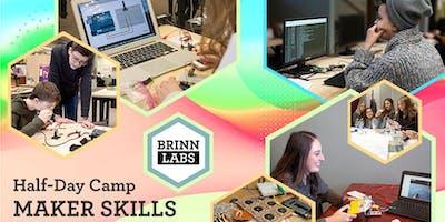 Maker Skills Half-Day Camp