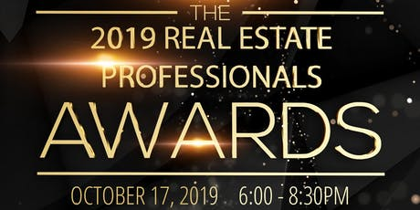 The 2019 Real Estate Professionals Awards tickets