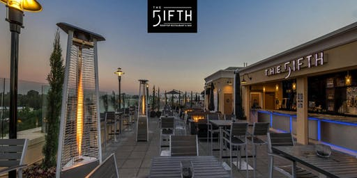 Join the EZIP Team at The Fifth's Rooftop Restaurant & Bar.
