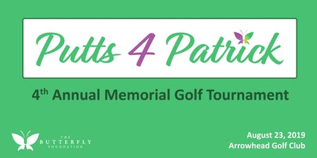 Putts 4 Patrick - 4th Annual Tournament tickets