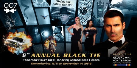 9th Annual 007 Black Tie - Tomorrow Never Dies tickets