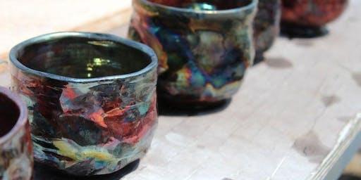 Raku Pottery: Earth and Fire