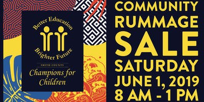 Annual Community Rummage Sale