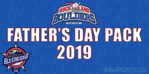 Rockland Boulders Father's Day Pack