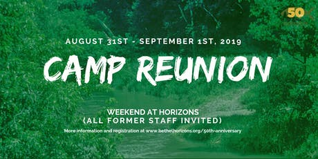 50th Anniversary Reunion Weekend tickets