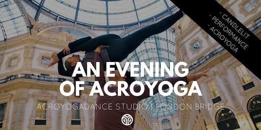 Evening of AcroYoga, AcroYogaDance Studio