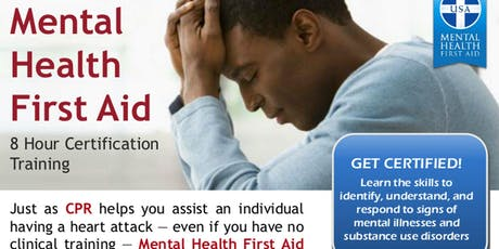 Ganado ISD - Texas Initiative Mental Health First Aid Training - Youth tickets