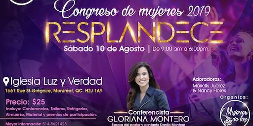 Congreso de mujeres - Resplandece 2019