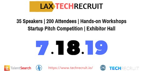 LAXTechRecruit 2019 tickets