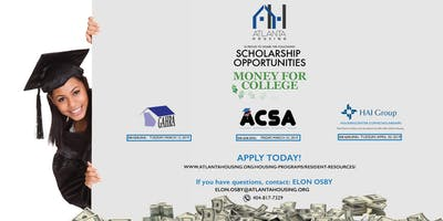 Apply Now! Atlanta Housing Scholarship Opportunities!