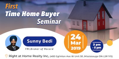 First Time Home Buyer Seminar - 24 March
