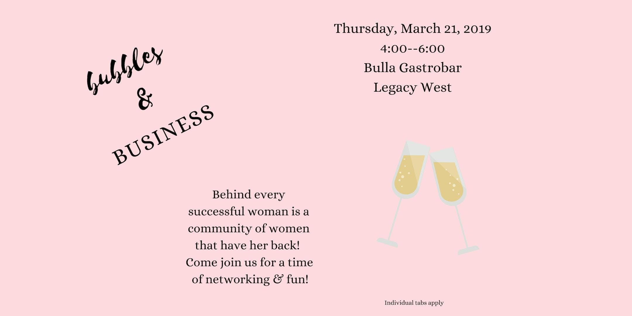 Bubbles & Business Ladies Networking Collecti