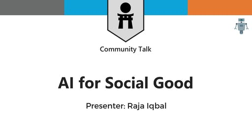 AI for Social Good - Toronto - Sold Out!