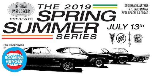 2019 Buick, Oldsmobile, Pontiac & Cadillac Car Show- Car Registration