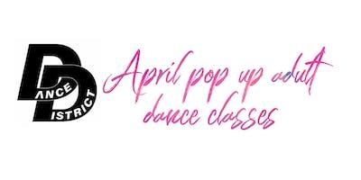 April Pop Up Classes