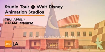 Studio Tour @ Walt Disney Animation Studios