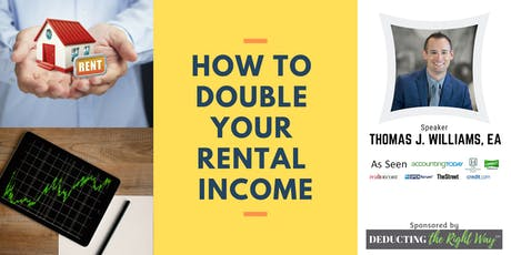 Landlords: Double Your Rental Income By Making This One Change tickets