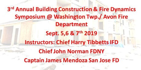 3rd Annual Avon Building Construction & Fire Dynamics Symposium   tickets