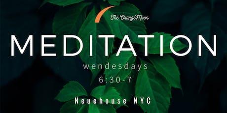 Meditation / NYC tickets